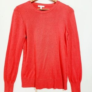 Red GAP luxe sweater